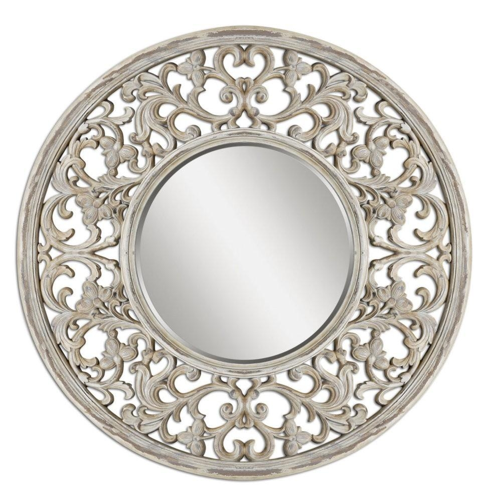 Large Round Wall Mirrors 82 Unique Decoration And Mirror Intended For Decorative Round Mirrors (Image 11 of 20)