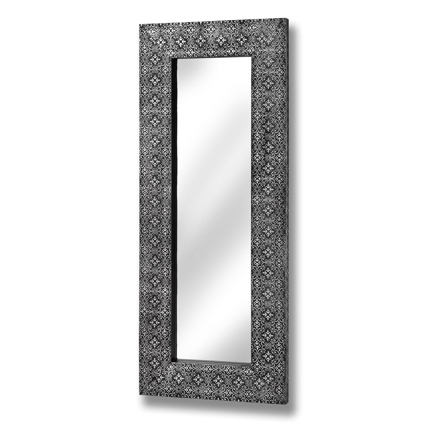 Large, Small, Floor, Vanity & Dressing Table Mirrors | Melody Pertaining To Silver Long Mirror (Image 11 of 20)