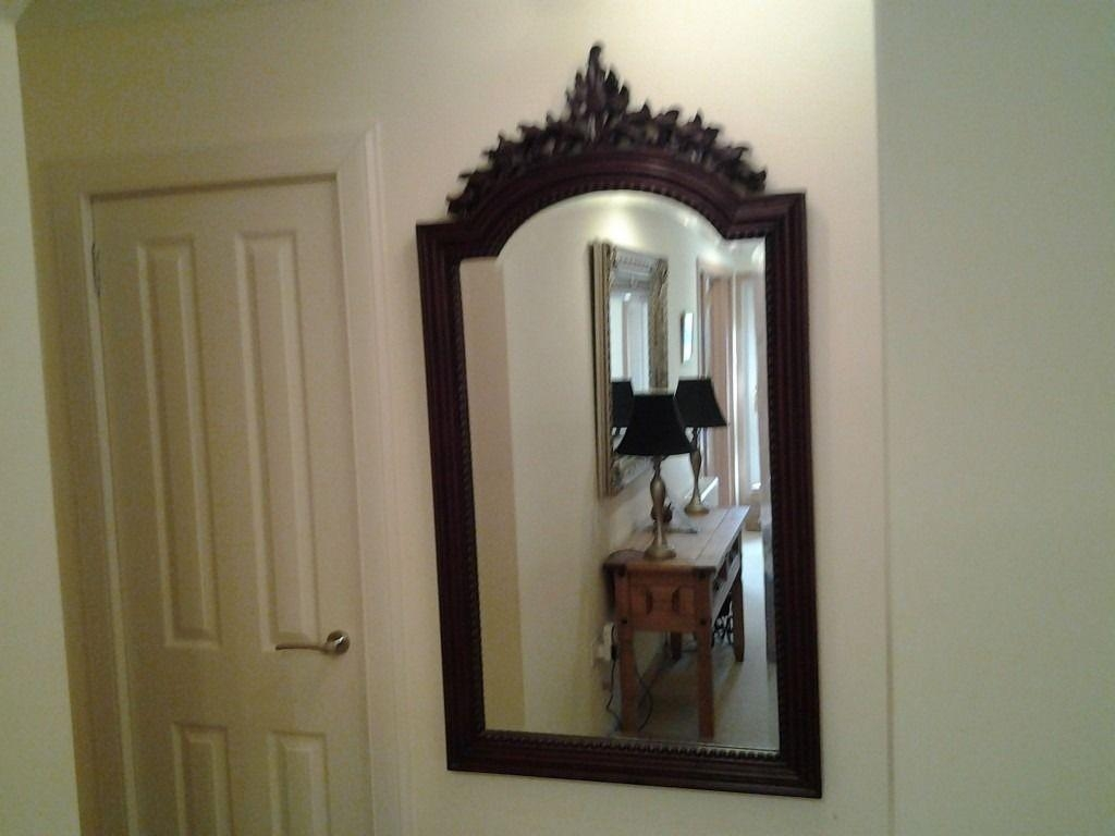 Large Solid Wood Gothic Style Mirror | In Helensburgh, Argyll And With Gothic Style Mirror (View 11 of 20)