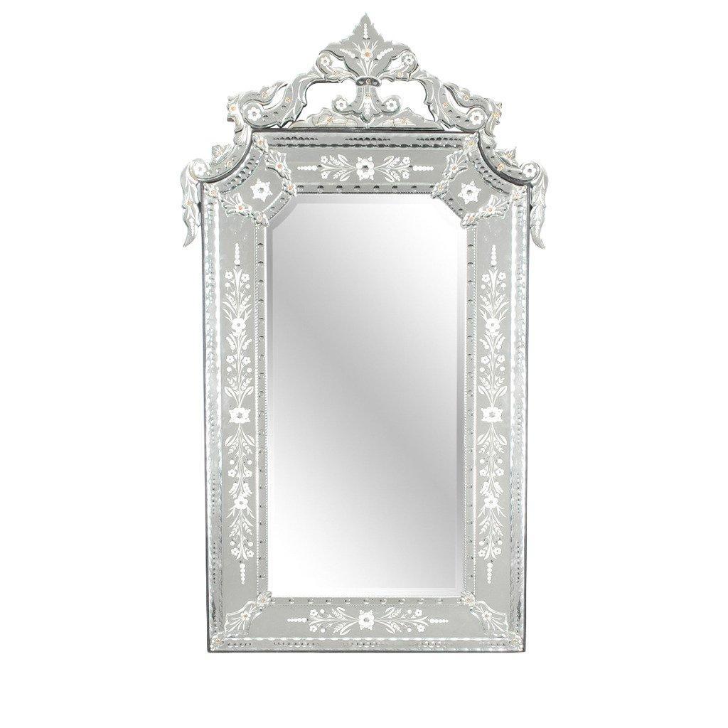 Large Venetian Mirror At 1Stdibs In Large Venetian Mirrors (Image 12 of 20)