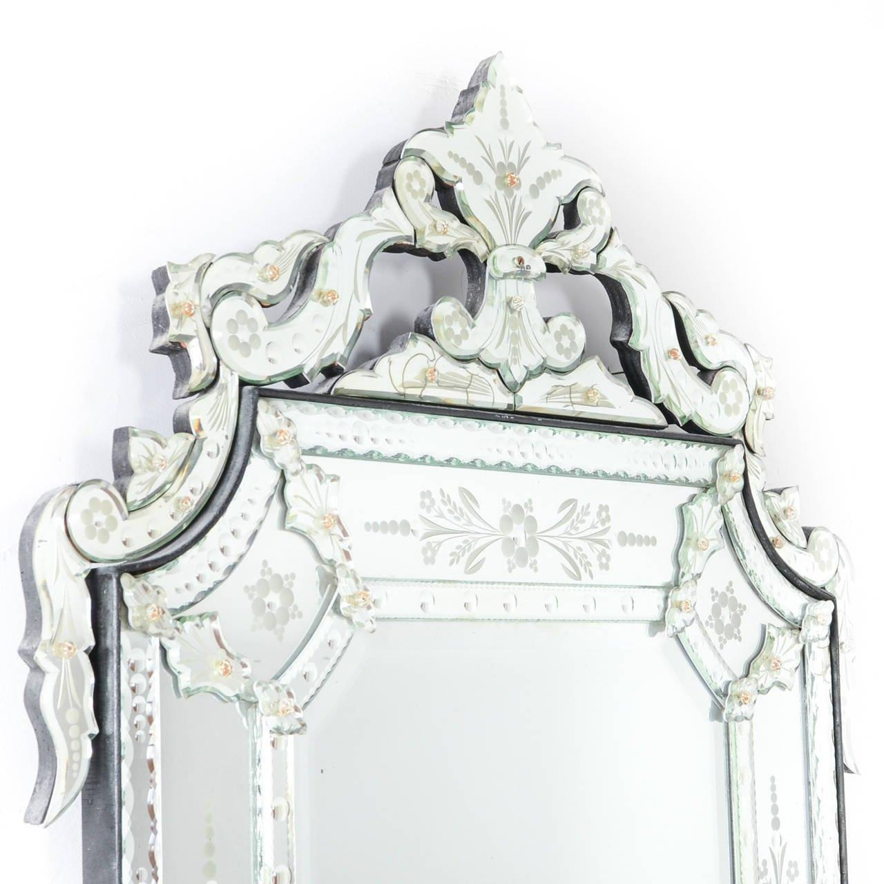 Large Venetian Mirror At 1Stdibs Inside Venetian Mirrors For Sale (View 17 of 20)