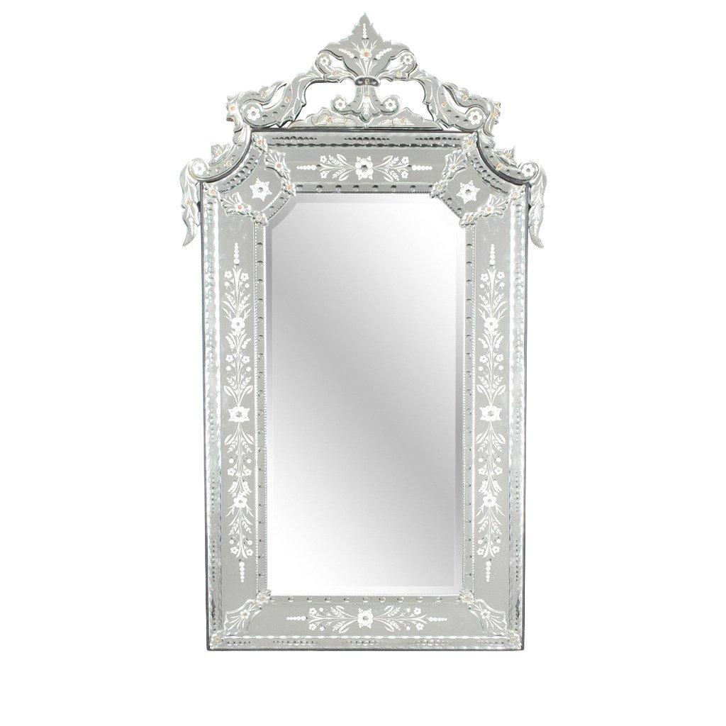 Large Venetian Mirror At 1Stdibs Regarding Black Venetian Mirror (Image 10 of 20)