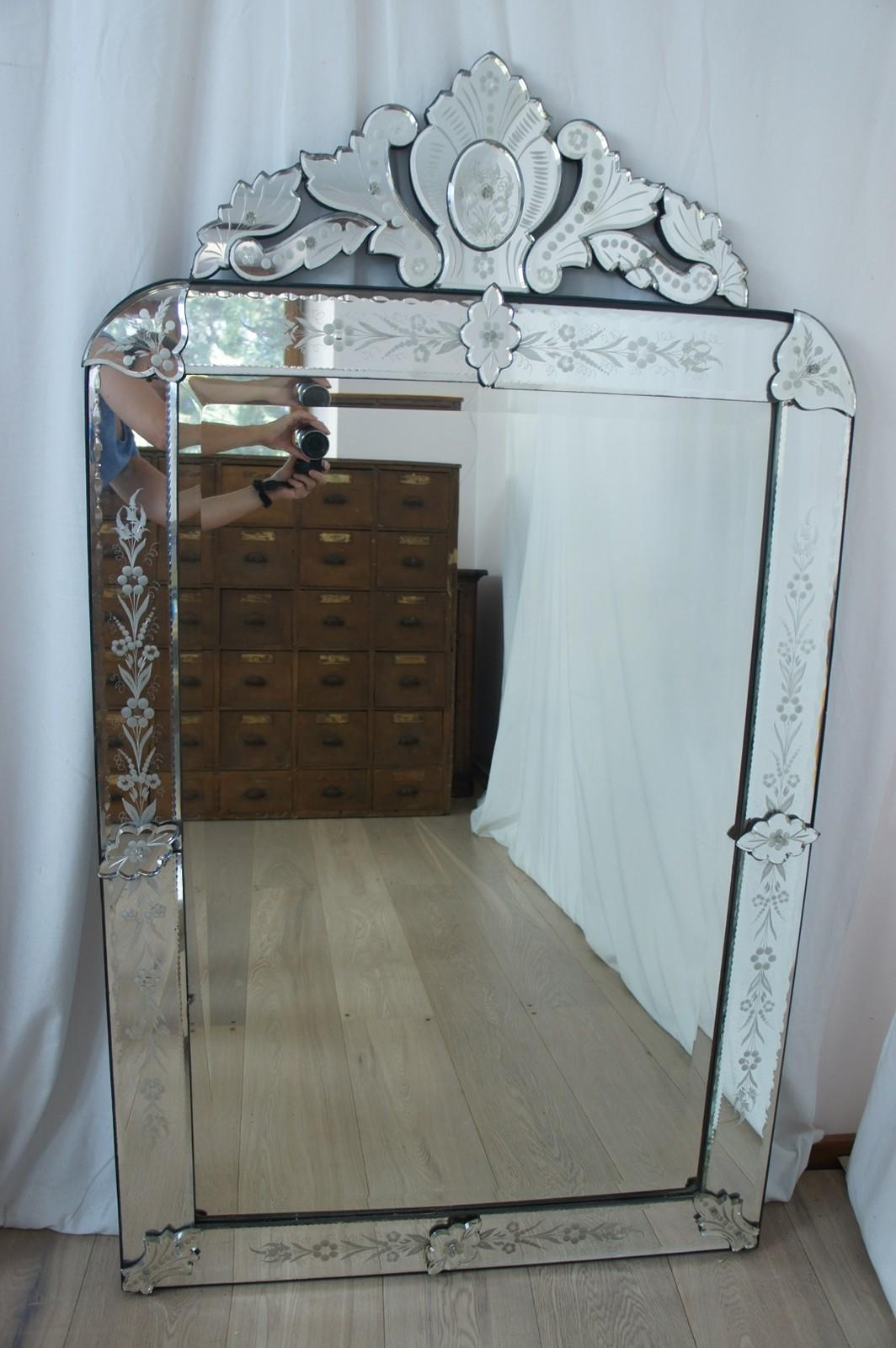 Large Venetian Mirror – The Hoarde With Large Venetian Mirrors (Image 11 of 20)