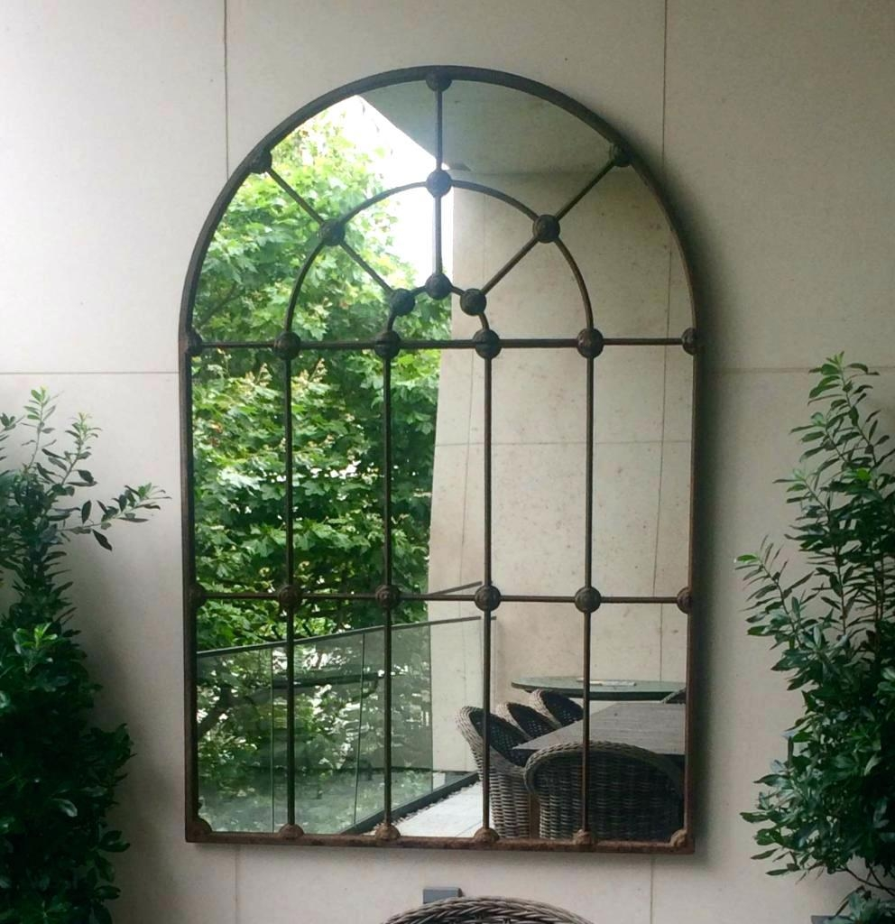 Large Window Pane Mirror – Amlvideo With Large Garden Mirrors (View 11 of 20)