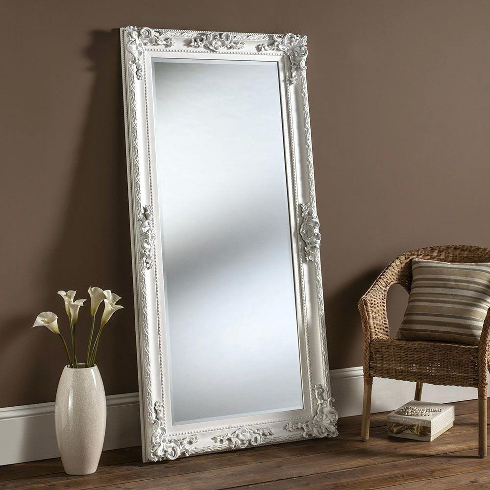 Large Window Pane Mirror Beveled Floor Oversized Mirrorslarge Full Throughout Beveled Full Length Mirror (Image 15 of 20)