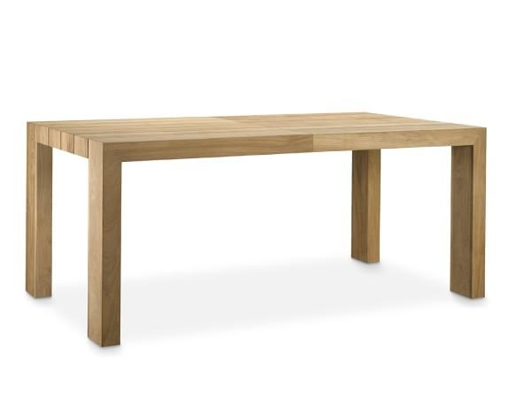 Larnaca Outdoor Teak Extendable Dining Table | Williams Sonoma Throughout Outdoor Extendable Dining Tables (Image 14 of 20)