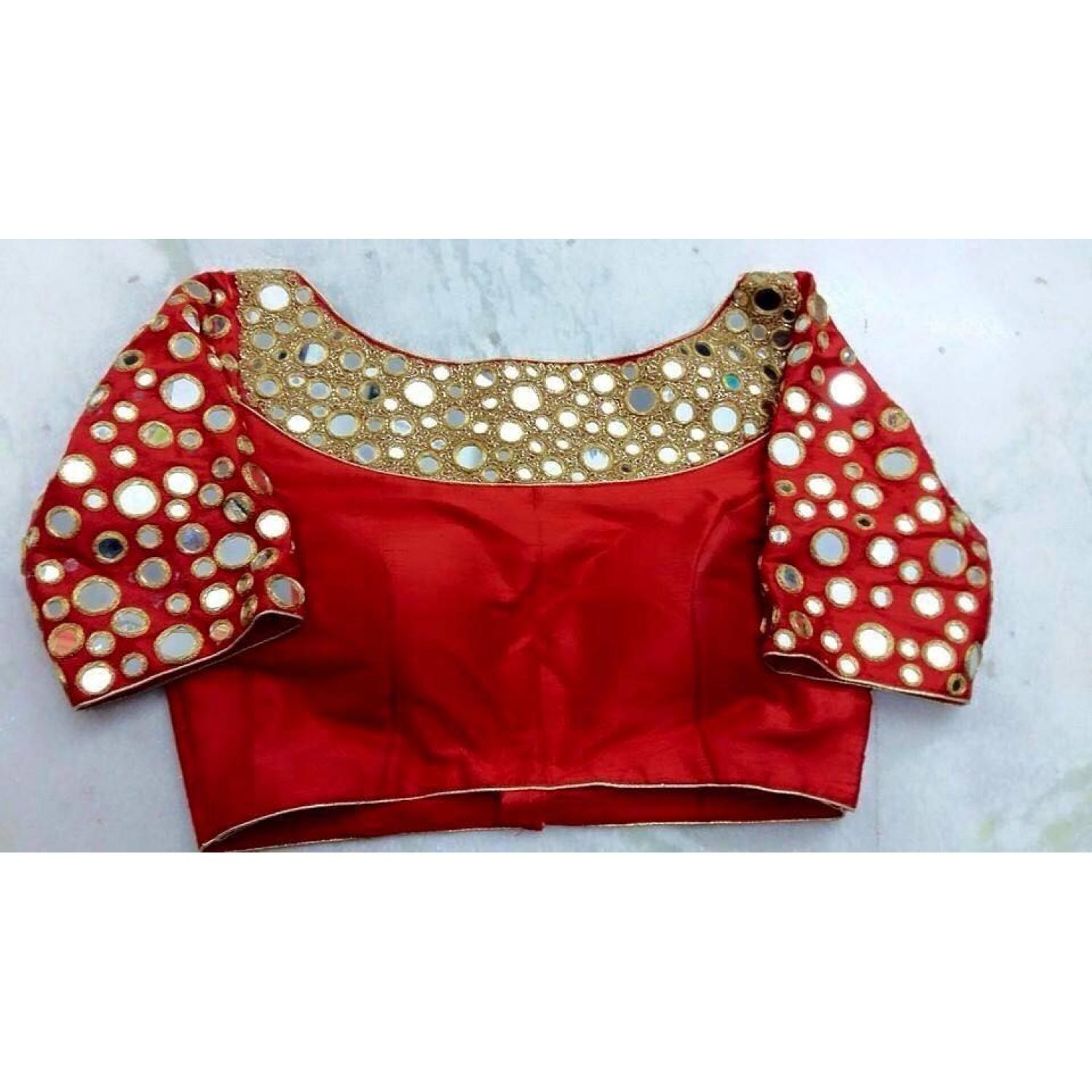 Latest Bridal Readymade Blouses Online Shopping India With Low Inside Online Shopping Mirror (View 8 of 20)