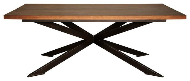 Lazio Dining Table – Transitional – Dining Tables  Noir Throughout Lazio Dining Tables (Image 14 of 20)