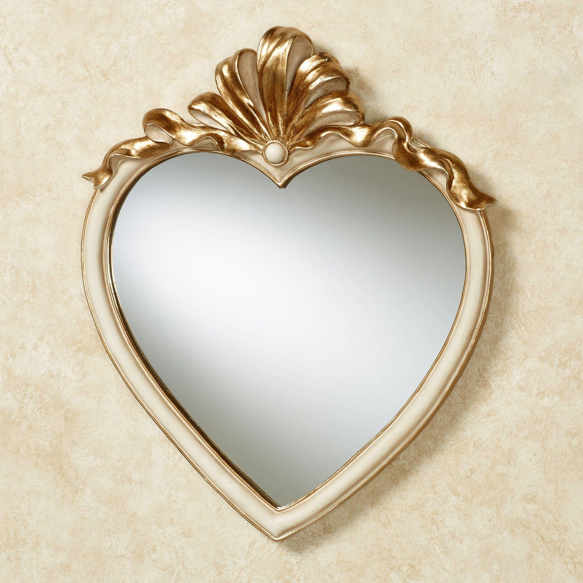 Leandra Heart Shaped Wall Mirror Intended For Heart Shaped Mirrors For Walls (Image 14 of 20)