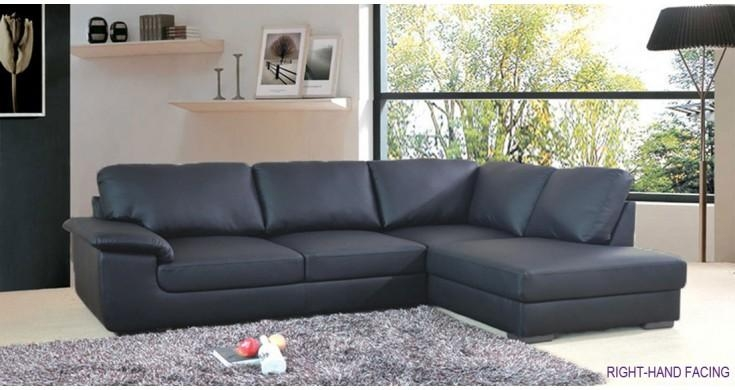 Leather Corner Sofa Buying Guide | Elegant Furniture Design Pertaining To Black Leather Corner Sofas (Image 14 of 20)