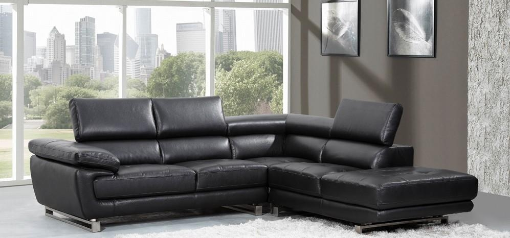 Leather Corner Sofas | Leather Sofa World For Black Leather Corner Sofas (Image 15 of 20)