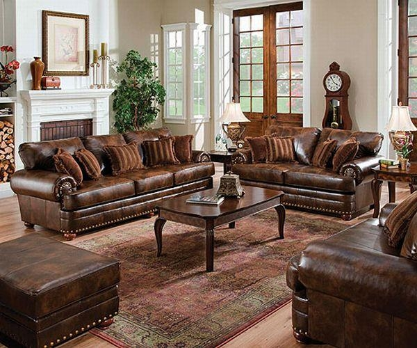 Leather Furniture Sets Burgundy Leather Sofa Living Room Furniture Pertaining To Burgundy Leather Sofa Sets (Image 14 of 20)