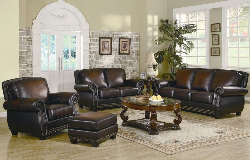Leather Furniture Sets Burgundy Leather Sofa Living Room Furniture Within Burgundy Leather Sofa Sets (Image 17 of 20)
