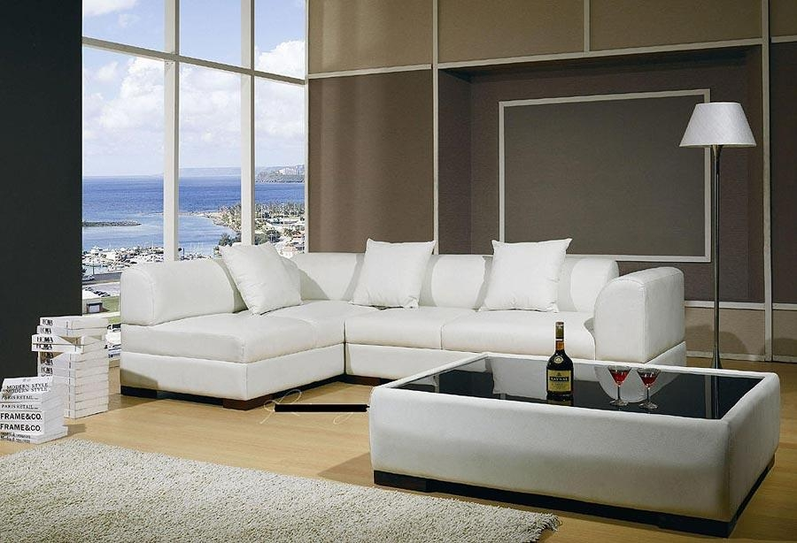 Leather Modern Contemporary Sectional Sofa 03 | Leather Sectionals Intended For Leather Modern Sectional Sofas (View 18 of 20)
