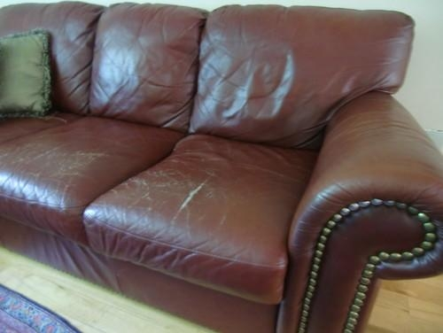 Leather Sofa Is Ruined (Image 18 of 20)