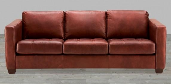 Leather Sofas, Buy Leather Sofas, Living Room Leather Sofas Intended For Dark Red Leather Sofas (Image 15 of 20)