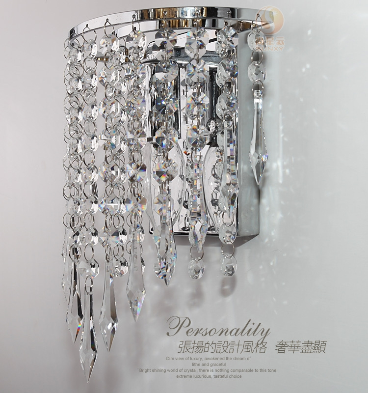 Led Wall Mount Lamp Picture More Detailed Picture About Modern With Wall Mount Crystal Chandeliers (Image 13 of 25)