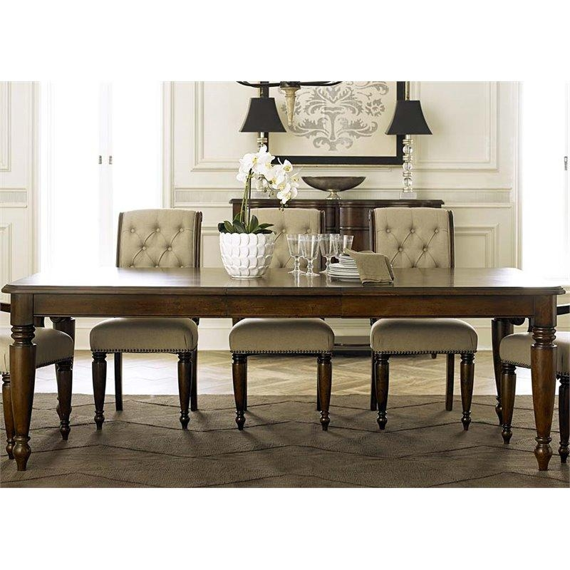 Liberty Furniture Cotswold Dining Table In Cinnamon – 545 T4290 Regarding Cotswold Dining Tables (Image 17 of 20)