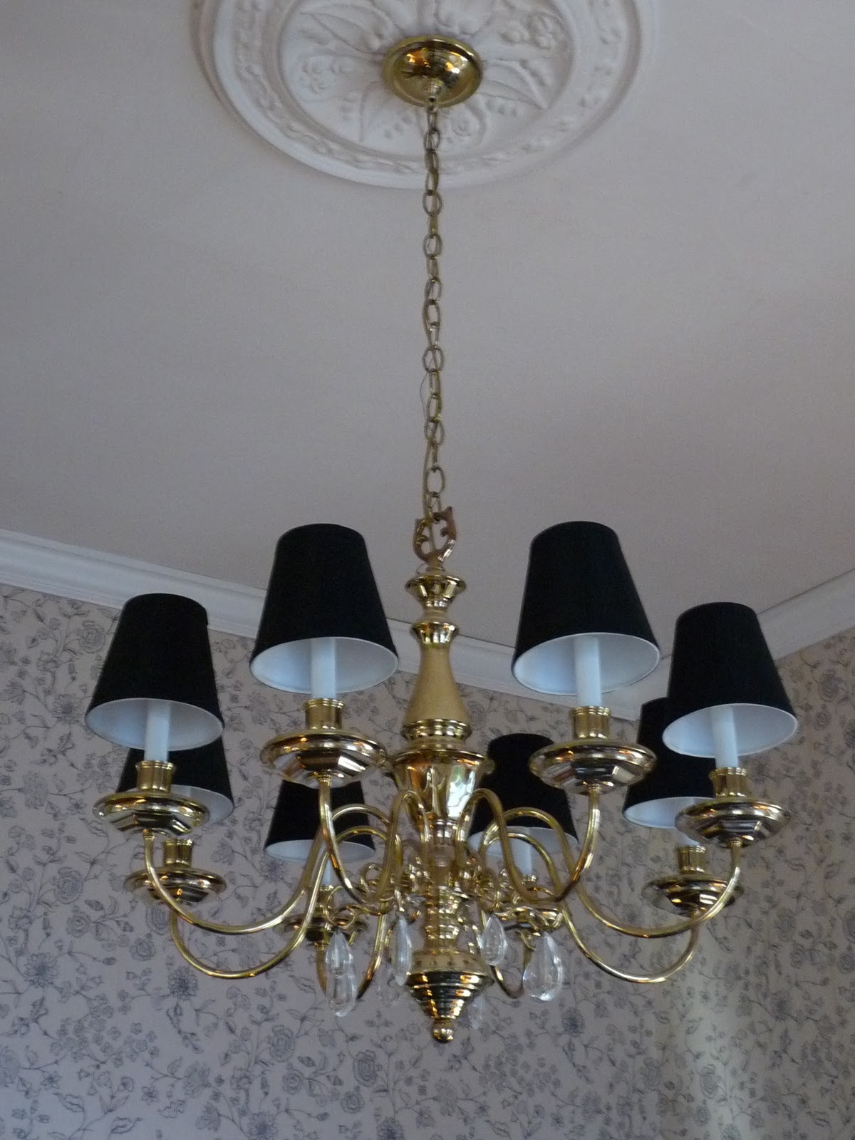 Lighting Beautiful Lowes Chandelier For Home Lighting Ideas Pertaining To Chandeliers With Black Shades (Image 16 of 25)