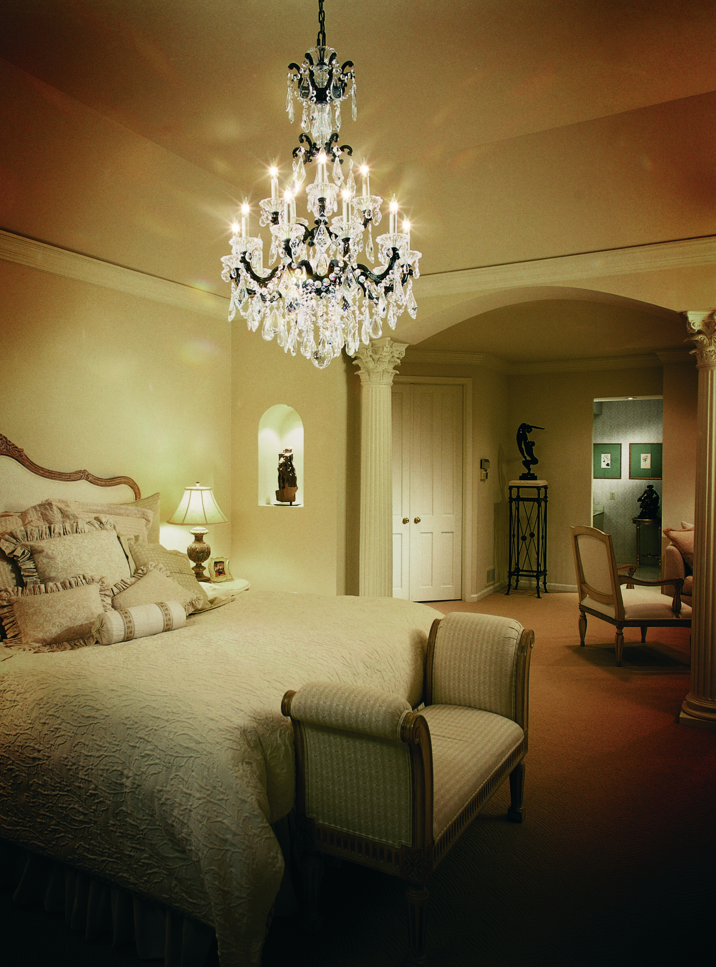 Lighting Breathtaking Chandelier From Schonbek For Luxury Home Intended For Wall Mounted Chandeliers (View 2 of 25)