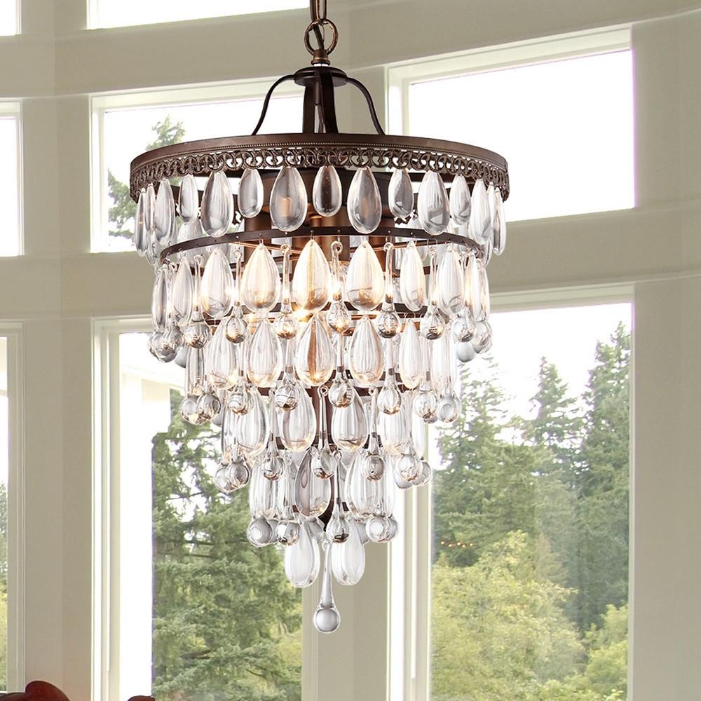 Lighting Have Luxury Lighting Using Crystal Chandelier Inside 4 Light Crystal Chandeliers (View 17 of 25)