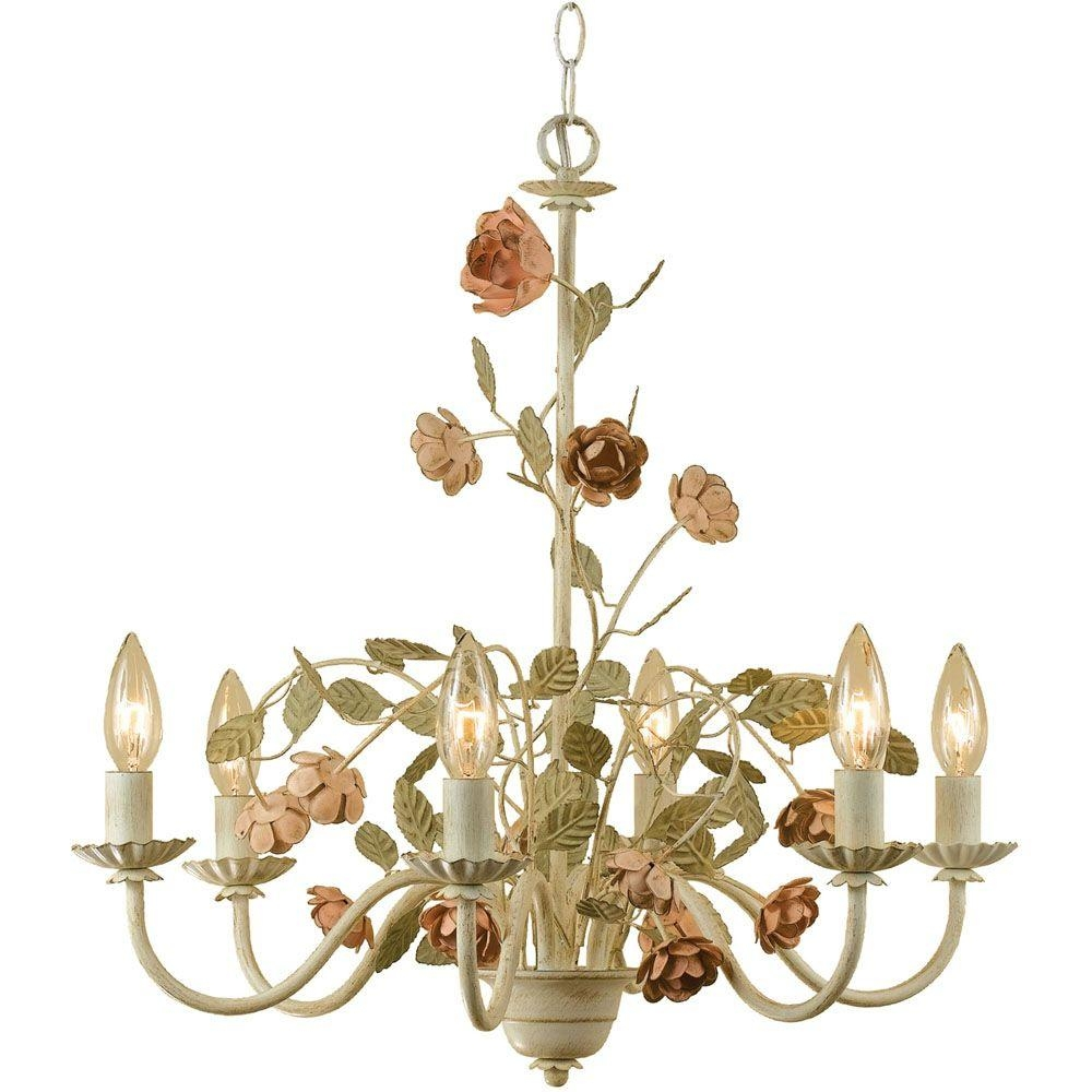Lighting Wonderful Candle Chandelier Non Electric For Modern With Candle Look Chandeliers (Image 15 of 25)
