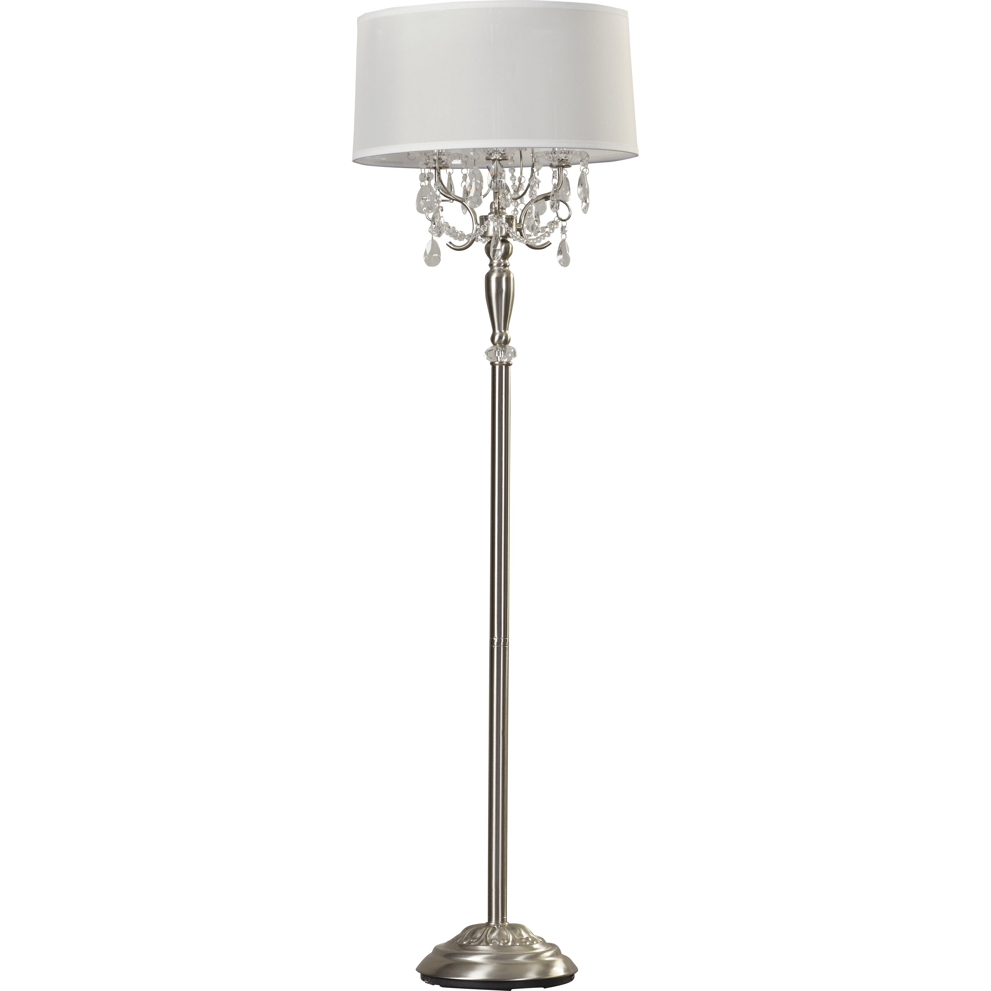 Lights Crystal Floor Lamp Luxury Floor Lamp Stacked Crystal With Regard To Chandelier Standing Lamps (View 19 of 25)