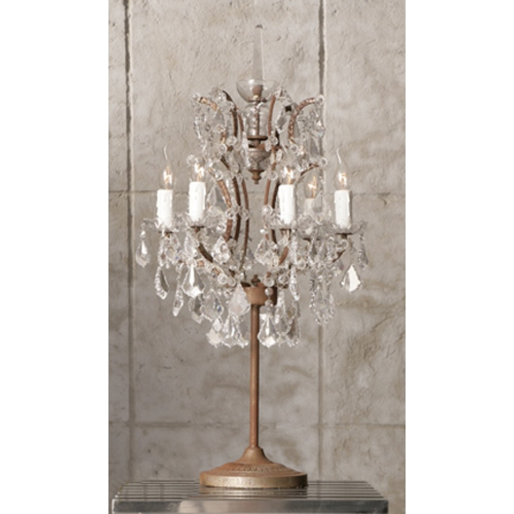 Lights Inspiring Interior Lights Design Ideas With Elegant For Small Chandelier Table Lamps (View 3 of 25)
