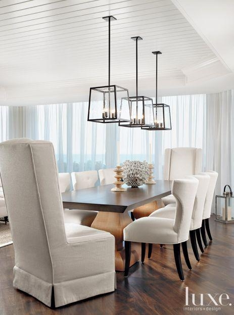 Lights Over Dining Room Table Magnificent Decor Inspiration Dining Intended For Lights For Dining Tables (Photo 17 of 20)