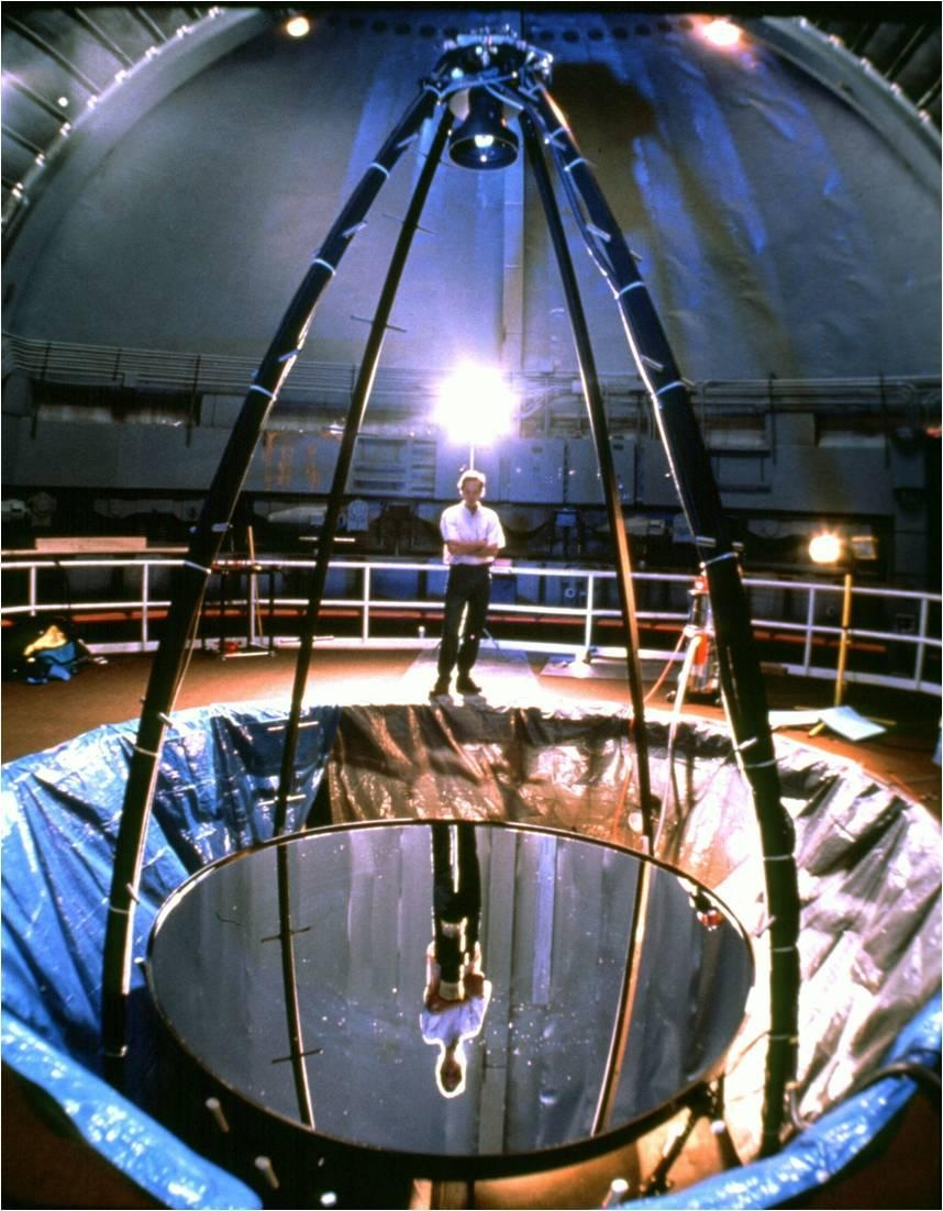 Liquid Mirror Telescope – Wikipedia Intended For Liquid Glass Mirrors (Image 14 of 20)