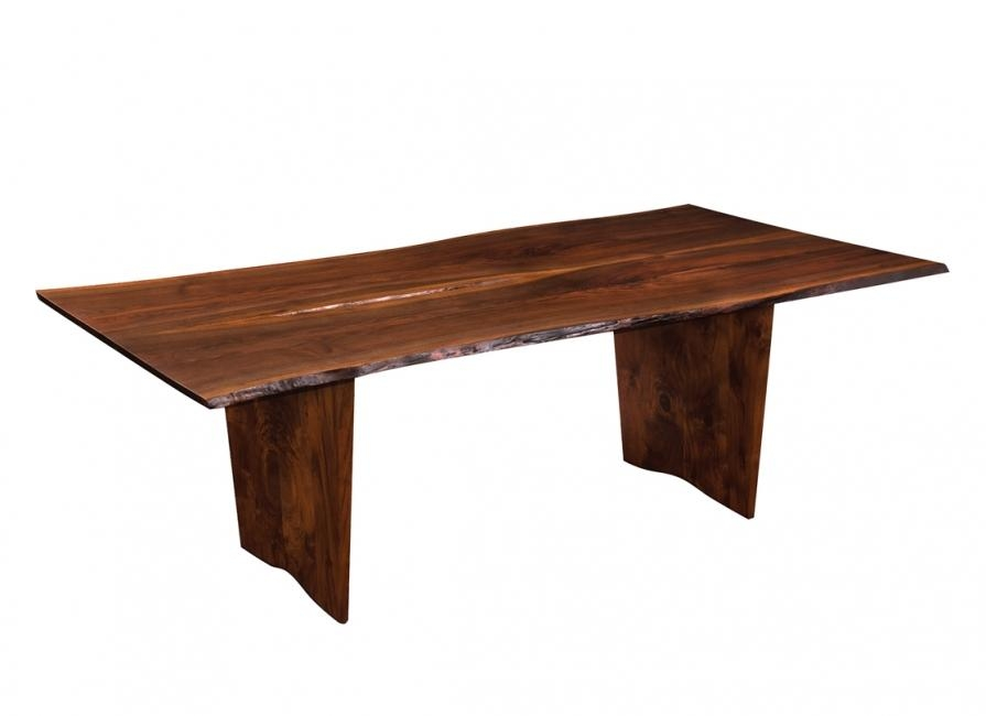 Live Edge Dining Table – Live Edge Walnut Table For Portland Dining Tables (Image 13 of 20)