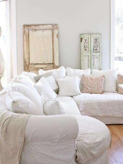 Living Room Brilliant 104 Best Furniture Sofas Images On Pinterest Pertaining To Shabby Chic Sectional Sofas Couches (Image 9 of 20)