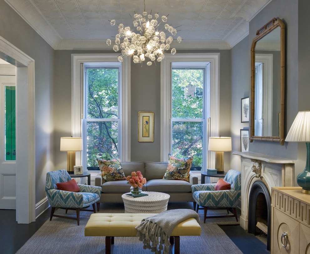 Beautiful Featured Image Of Living Room Chandeliers
