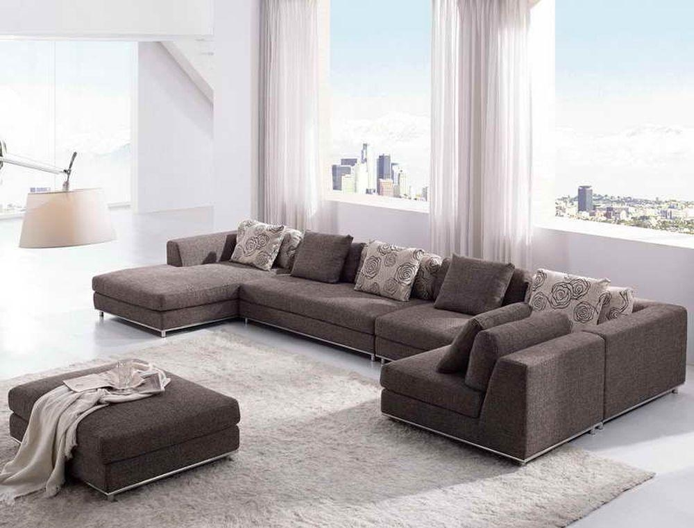 Living Room Elegant Shab Chic Sectional Sofa Leather Shabby Couch Intended For Shabby Chic Sectional Sofas Couches (Image 11 of 20)