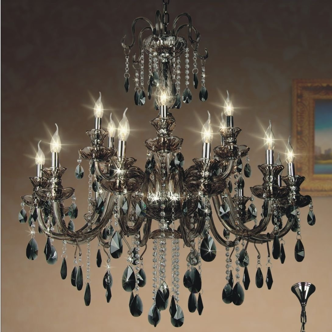 Living Room High Quality Crystal Chandeliers For Home Lighting In Florian Crystal Chandeliers (Image 16 of 25)