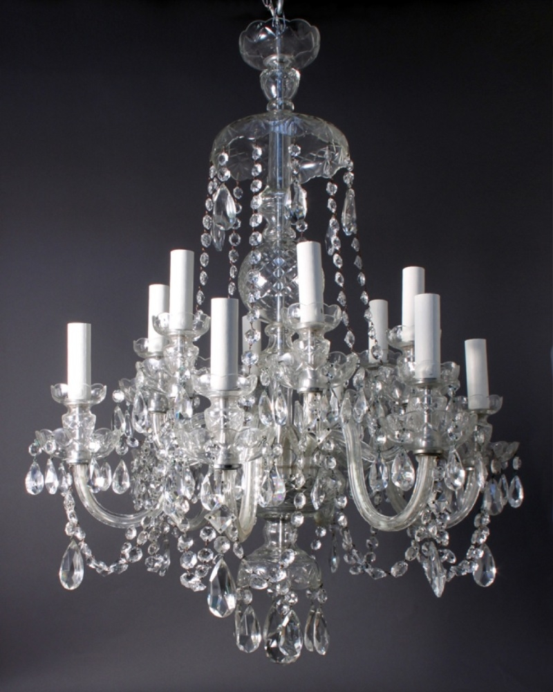 Living Room High Quality Crystal Chandeliers For Home Lighting In Sparkly Chandeliers (Image 21 of 25)