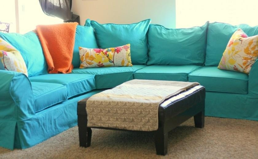 Living Room: Luxury L Shaped Couch Covers For Modern Living Room Pertaining To 3 Piece Sofa Slipcovers (Image 8 of 20)