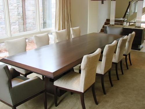Long Dinner Table Comfortable 15 Long Dining Room Tables With Long Dining Tables (View 17 of 20)
