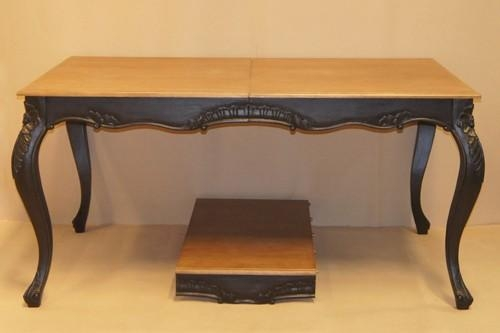 Louis French Extendable Dining Table – Crown French Furniture Intended For French Extending Dining Tables (Image 15 of 20)