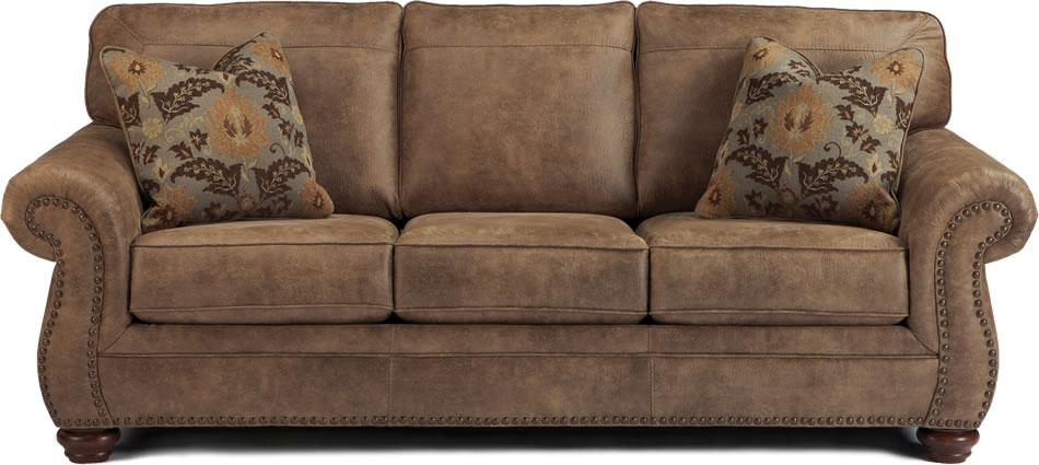 Lovable Leather Sofa Nailhead Trim Brown Leather Sofa Nailhead Pertaining To Brown Leather Sofas With Nailhead Trim (Image 15 of 20)