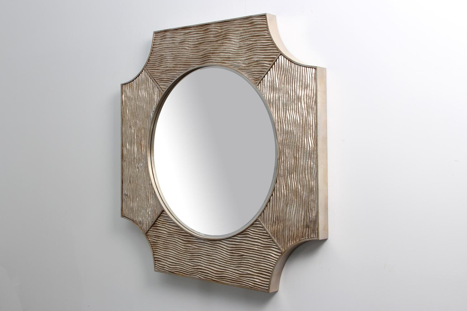 Lucas Mirror – Silver | Forwood Design Regarding Modern Silver Mirror (Image 11 of 20)