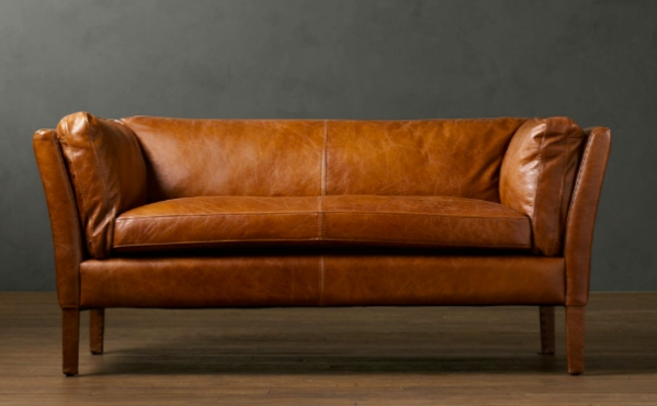 Lucy And Company: Pondering A Leather Sofa? With Carmel Leather Sofas (Image 17 of 20)