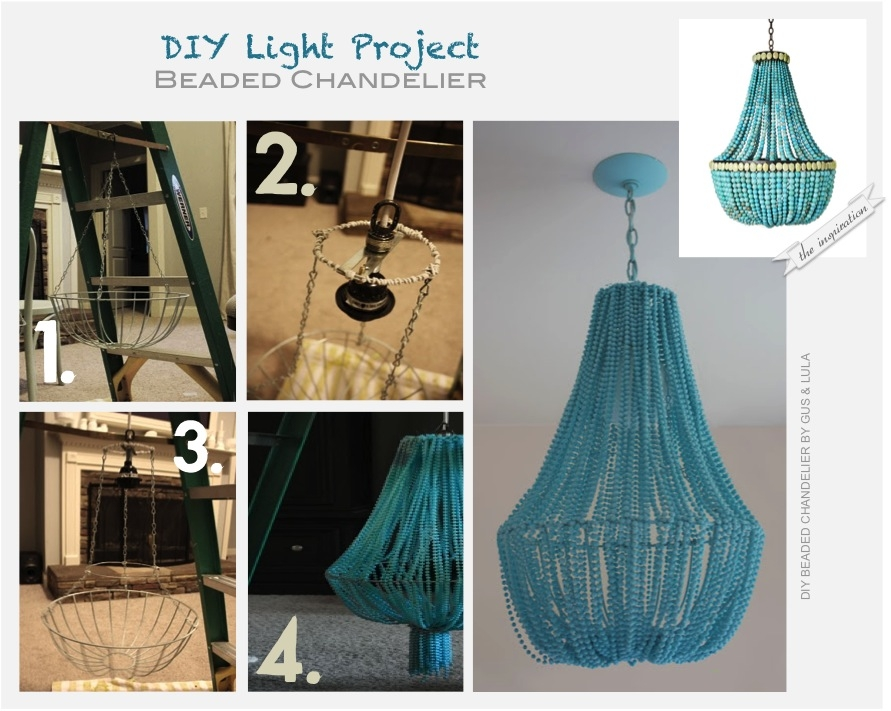 Lunivers Dins Diy Do It Yourself Pertaining To DIY Turquoise Beaded Chandeliers (Image 24 of 25)