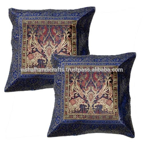 Luxury Indian Cushion Cover/ Pillow Cover / Sofa Cushion – Buy Regarding Sofa Cushion Covers (Image 10 of 20)
