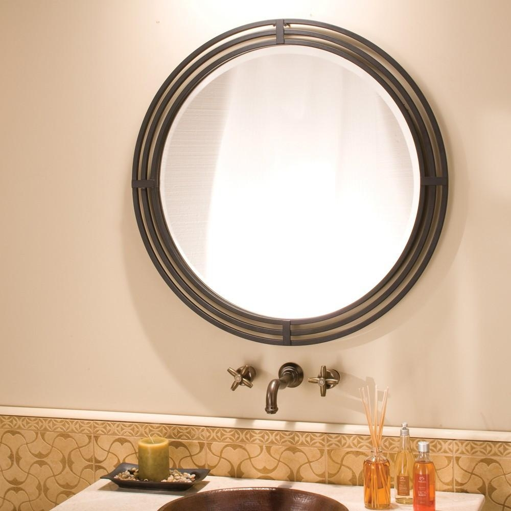 Luxury Metal Framed Wall Mirrors | Native Trails With Wrought Iron Bathroom Mirrors (Image 14 of 20)