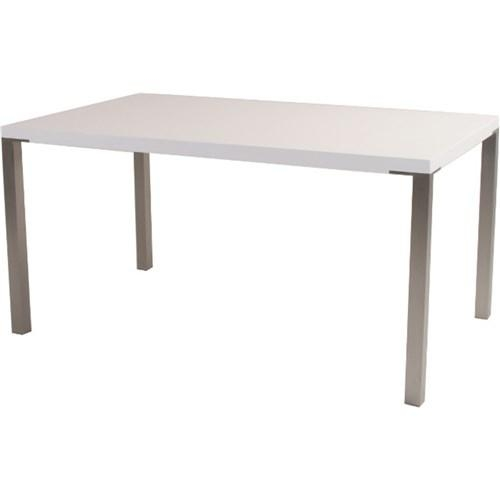 Lyon Dining Table 900X900 2Pac White (P1111Dt06) | Dining Table Intended For Lyon Dining Tables (Image 12 of 20)