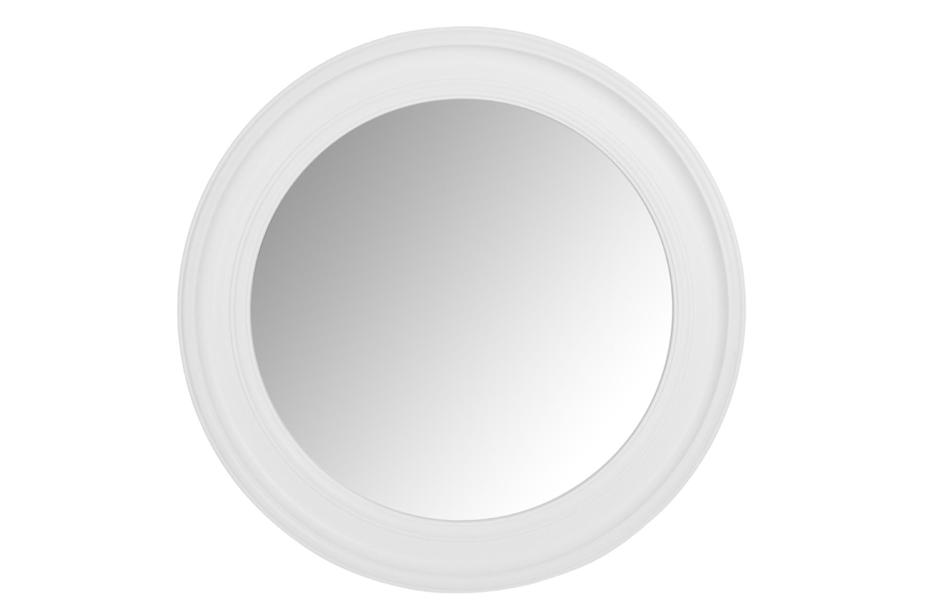Made To Order Furniture – Alena Large Round White Mirror | Laura In Large Round Black Mirror (Image 14 of 20)