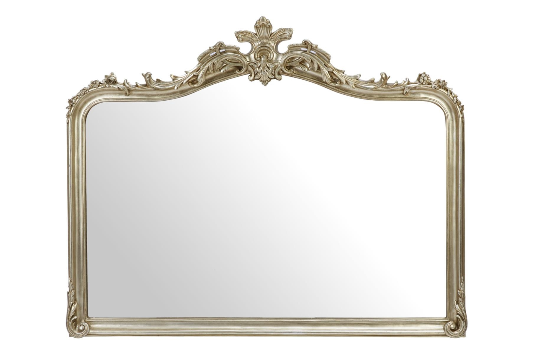 Made To Order Furniture – Patricia Champagne Overmantel Mirror Throughout Champagne Mirror (Image 12 of 20)