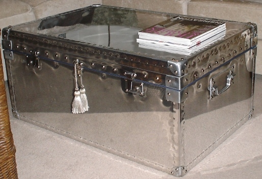 Magnificent Best Aluminium Coffee Tables Pertaining To Silver Trunk Coffee Table Best Round Coffee Table On Small Coffee (Image 35 of 50)