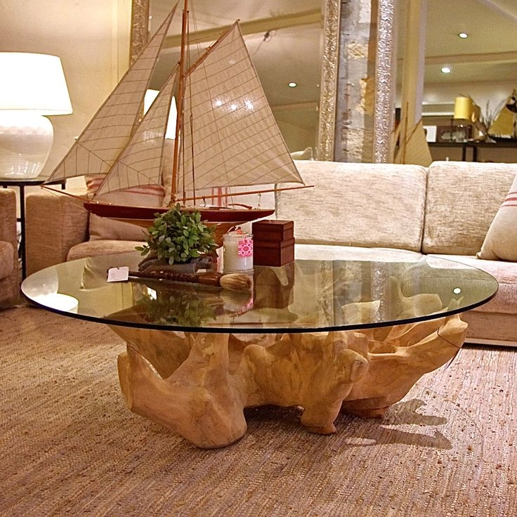 Magnificent Best Elephant Glass Top Coffee Tables Pertaining To Best 25 Tree Coffee Table Ideas On Pinterest Tree Trunk Coffee (Image 32 of 50)